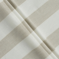 lino ivory beige stripes XL